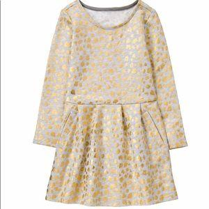 Gymboree Golden Leopard Dress Size 10 NEW
